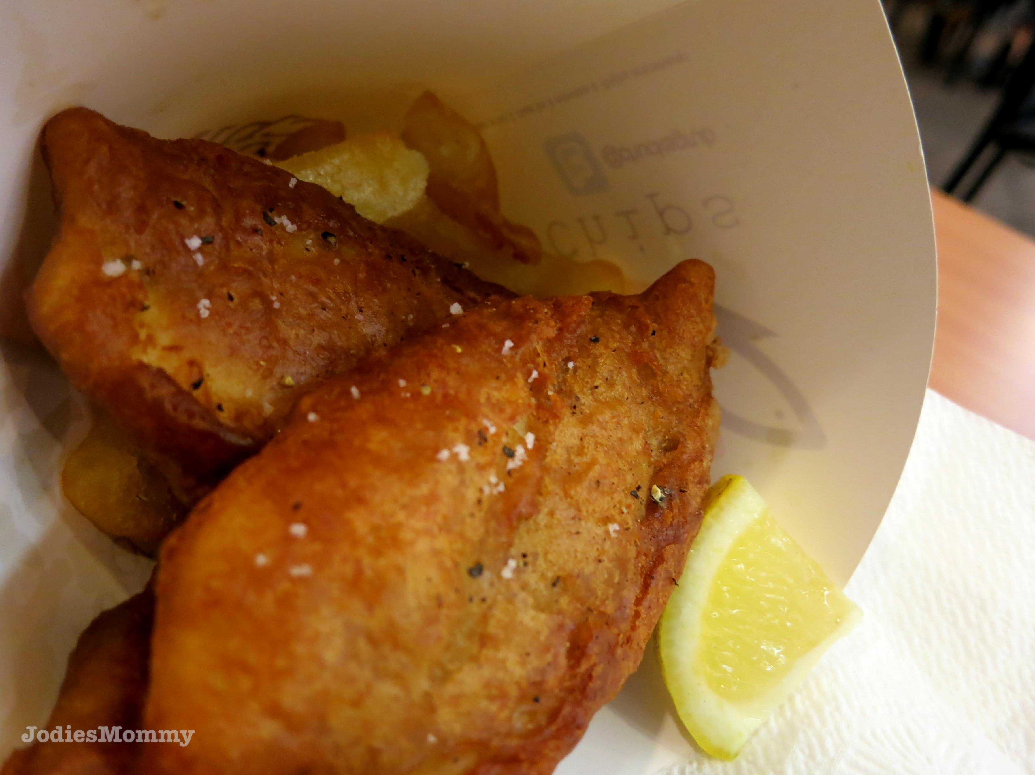 Chuck s grub a journey into my tummy for Chucks fish menu