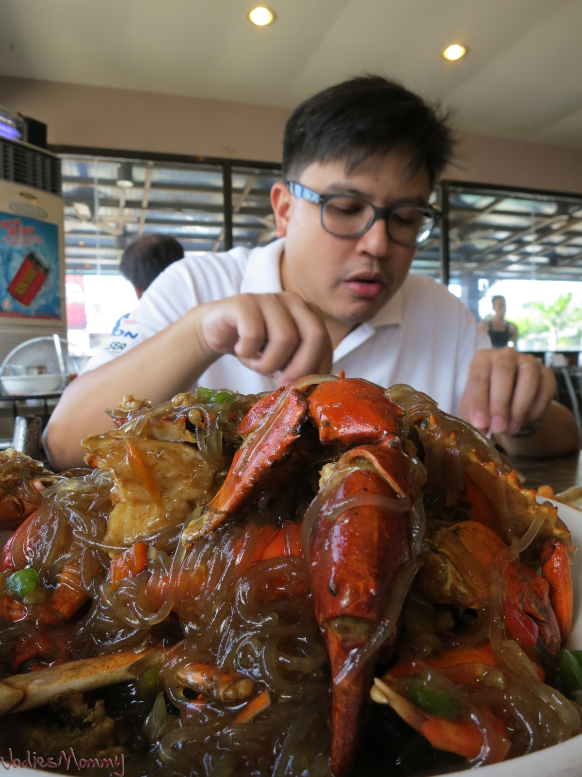 My Dad S Favorite Food Is Crabs In Chinese