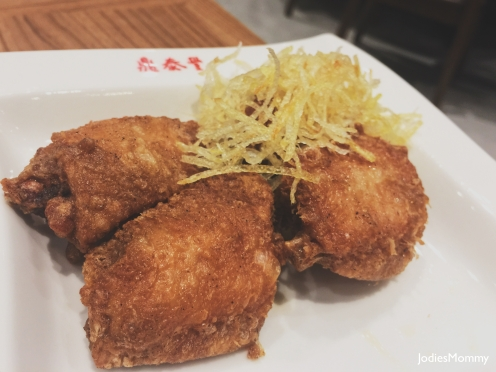 Chicken Wings with Shrimp paste
